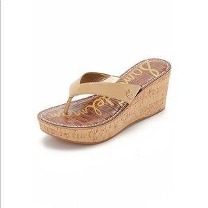 NWOT Never Worn Sam Edelman Wedge Sandals